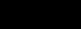 Logomarchio orizzontale Viandando nero su trasparente
